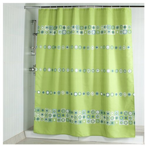 Штора для ванной Aquarius Элегия 180х200 зеленый