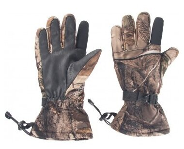 Купить Перчатки охотничьи Helios, размер М (камуфляж) по низкой цене с доставкой из Яндекс.Маркета