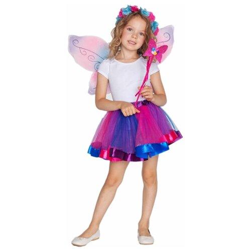 Купить Костюм ВКостюме.ру Фея (1027641), розовый, размер 119, Карнавальные костюмы