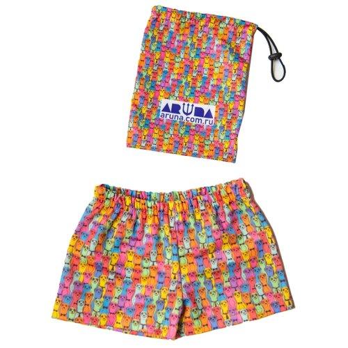 Плавки Aruna размер 122-134, розовый/желтый/синийБелье и пляжная мода<br>