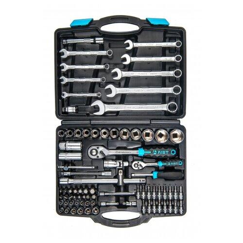 Набор автомобильных инструментов AIST (82 предм.) 409182W ключ torx t27 угловой aist 154227tt