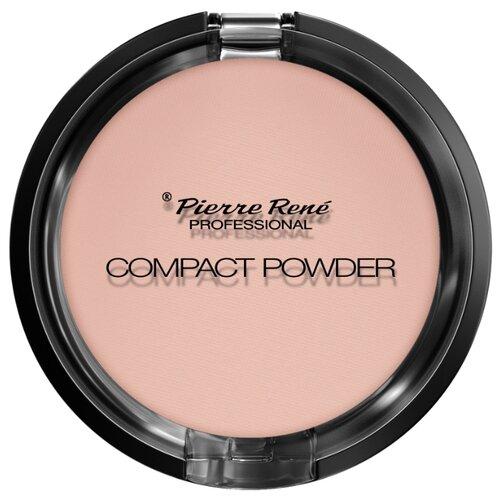 Pierre Rene Compact Powder тональная компактная пудра с натуральными маслами для сухой кожи 05 soft beigeПудра<br>