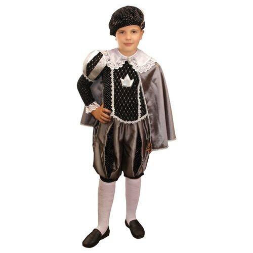 Купить Костюм Elite CLASSIC Принц, черный, размер 30 (122), Карнавальные костюмы