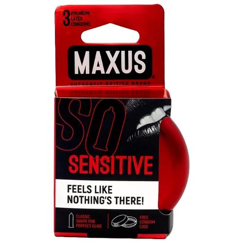Купить Презервативы Maxus Sensitive, 3 шт.