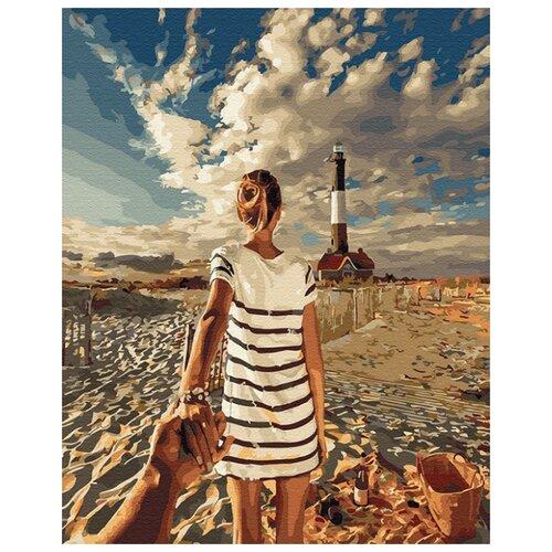 Купить Картина по номерам ВанГогВоМне ZX 23544 Следуй за мной. Огненный остров 40х50 см, Картины по номерам и контурам