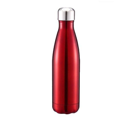 Бутылка термос из нержавеющей стали для горячего и холодного, металлическая бутылка для воды, 500 мл., Blonder Home BH-MWB-11