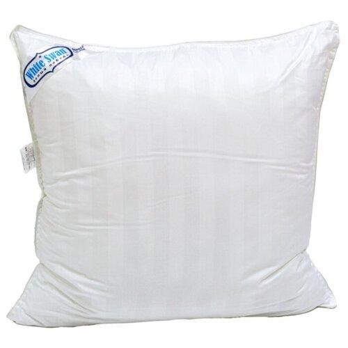 Подушка Фабрика снов Белый лебедь 70 х 70 см белый