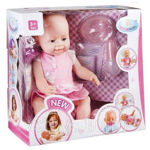 Фото - Интерактивный пупс Warm baby 42 см, 8009-439 интерактивный пупс baby doll