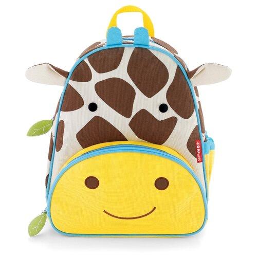 Купить SKIP HOP Рюкзак Zoo Little Giraffe, желтый/коричневый, Рюкзаки, ранцы