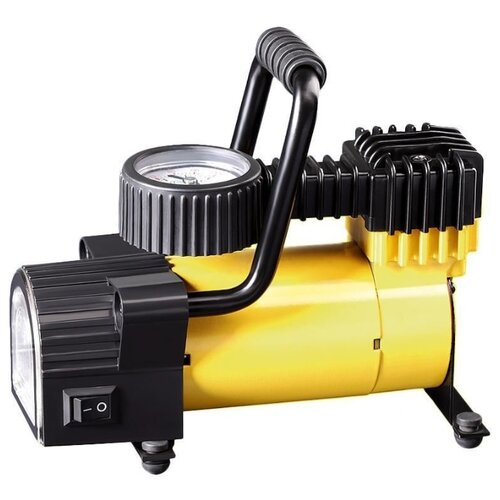 цена на Автомобильный компрессор Качок K50 LED желтый