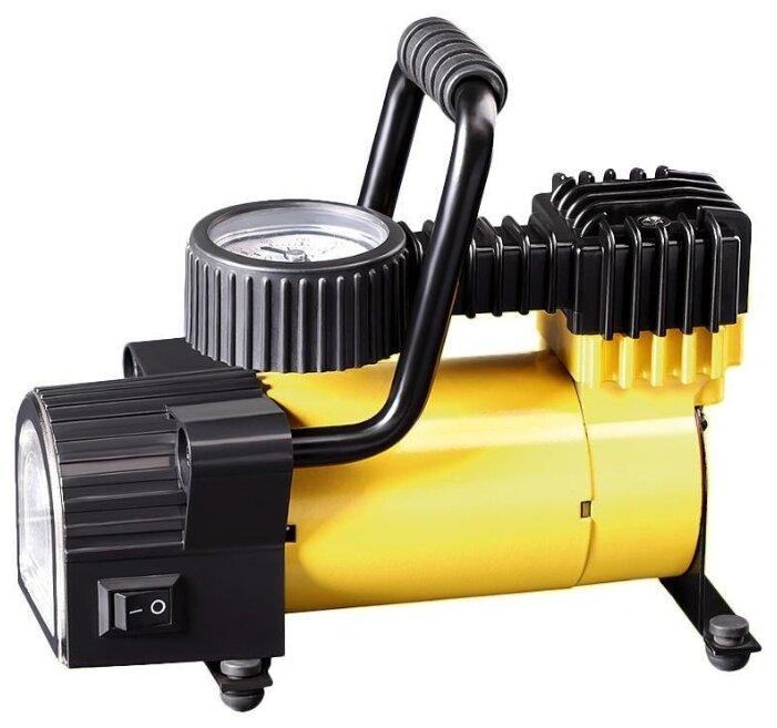 Автомобильный компрессор Качок K50 LED желтый