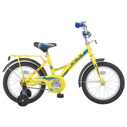 Детский велосипед STELS Talisman 14 Z010 (2018) желтый (требует финальной сборки)