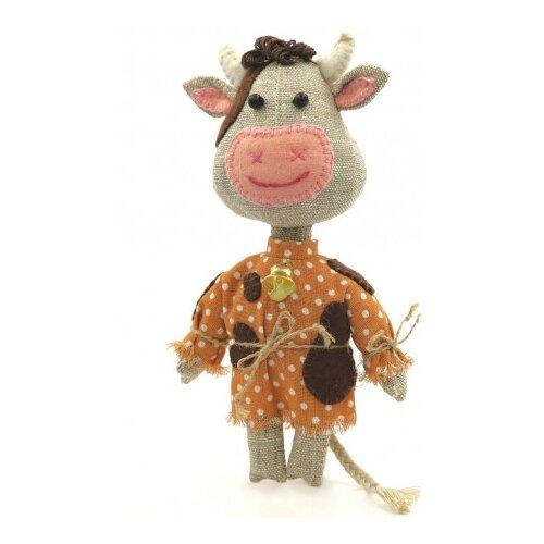 Купить Набор для изготовления текстильной игрушки Бычок-смоляной бочок , Перловка, Изготовление кукол и игрушек
