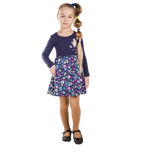 Платье Belka размер 92, синий