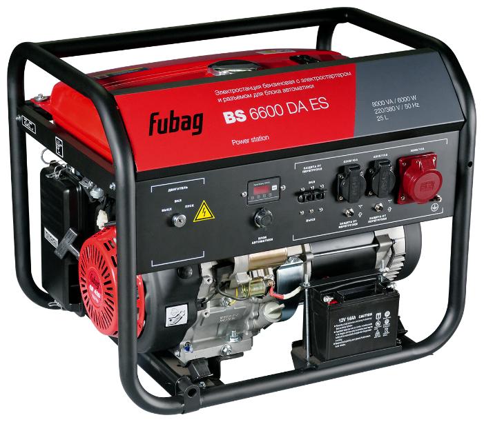 Бензиновый генератор Fubag BS 6600 DA