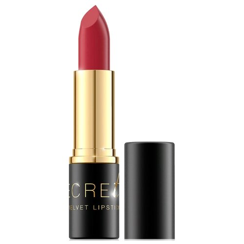Bell Помада для губ Secretale Velvet Lipstick стойкая матовая, оттенок 05 bell secretale velvet lipstick помада для губ стойкая матовая тон 03 4 5 г