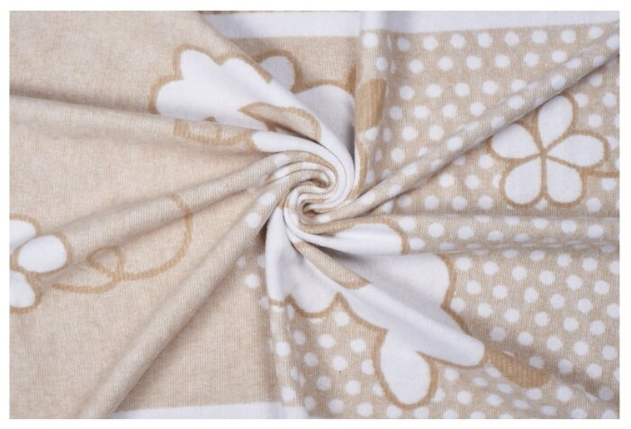 Одеяло байковое SWEET BABY Nuvola, 100х140 желтый