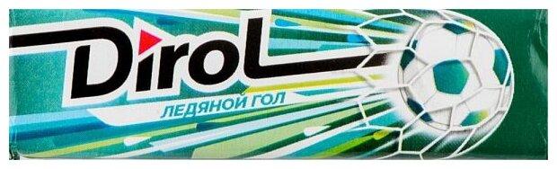 Жевательная резинка Dirol Cadbury Ледяной гол без сахара 13.6 г
