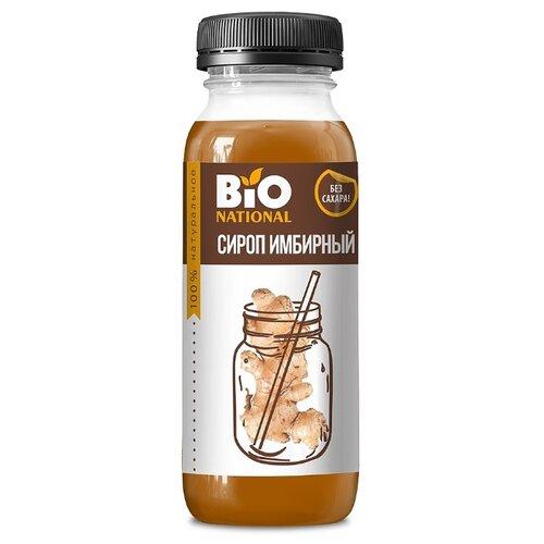 BIO National Сироп имбирный натуральный жидкость 250 мл