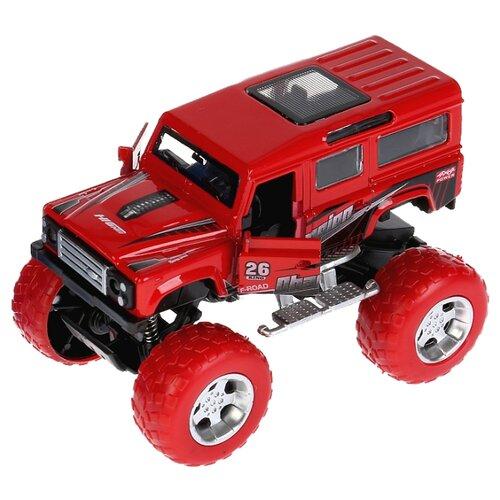 Монстр-трак ТЕХНОПАРК Road Racing (FY6018G-R) 17 см красныйМашинки и техника<br>
