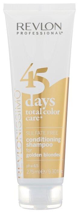 Шампунь Revlon Professional Revlonissimo 45 Days Total Color Care 2 in 1 for Golden Blondes