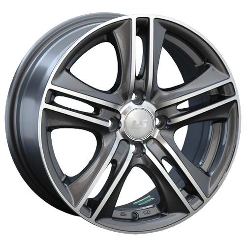 Фото - Колесный диск LS Wheels LS191 7х16/4х100 D73.1 ET40, GMF колесный диск ls wheels ls570 7x16 5x114 3 d73 1 et40 hp