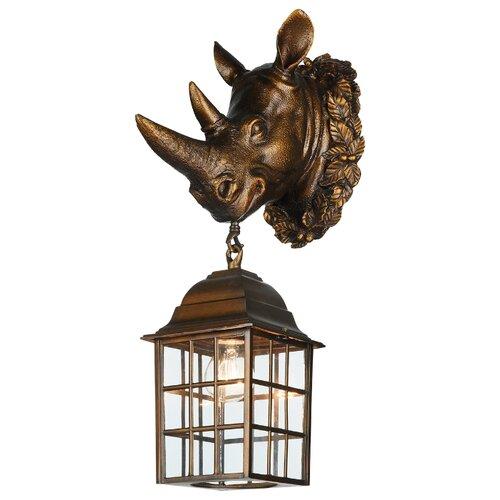Favourite Уличный настенный светильник Hunt 2033-1W светильник favourite 2078 1w hunt
