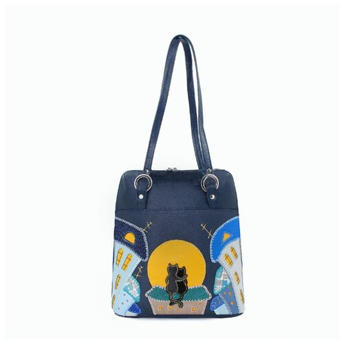 Сумка-рюкзак Protege ДС-226 Город № 6 синяя