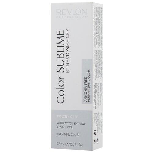 Revlon Professional Revlonissimo Color Sublime стойкая краска для волос, 75 мл, 8.12 светлый блондин пепельно-перламутровый холодный светлый блондин