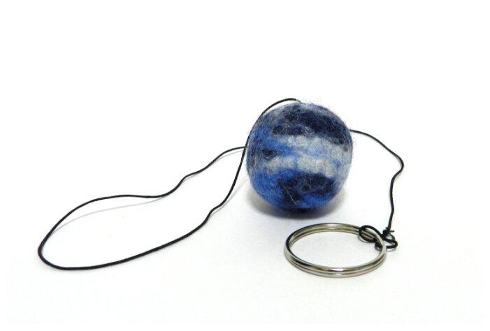 Мячик LIVEZOO Wool мультиколор на резинке 3 см