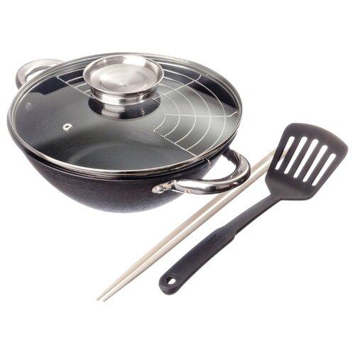 Казан чугунный Satoshi Kitchenware 808029, черный, 3 л недорого
