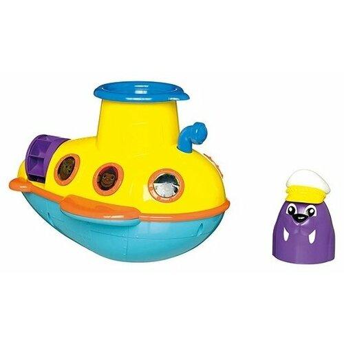 Купить Игрушка для ванной Tomy Смотровая подводная лодка (E72222) желтый/голубой/фиолетовый, Игрушки для ванной