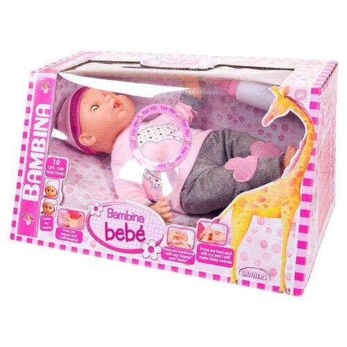 Купить Кукла Dimian Bambina Bebe с мимикой, 40 см, BD308-M8, Куклы и пупсы