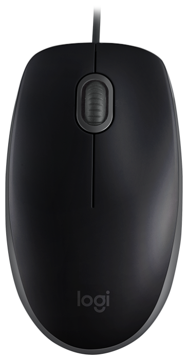 Мышь Logitech B110 Silent Black USB
