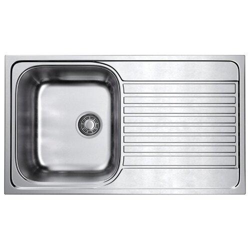 Врезная кухонная мойка 86 см OMOIKIRI Kashiogawa 86-IN нержавеющая сталь врезная кухонная мойка 86 см omoikiri akisame 86 in l нержавеющая сталь