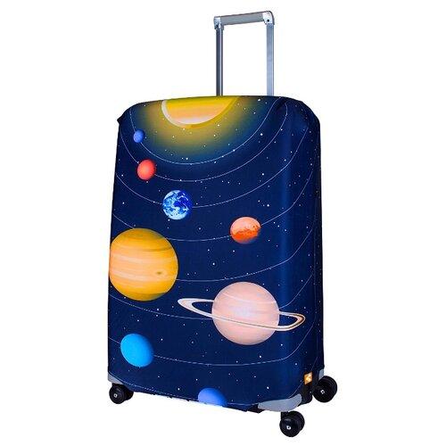 Чехол для чемодана ROUTEMARK Solar SP240 L/XL, синий цитрус спрей 31 век el sp240