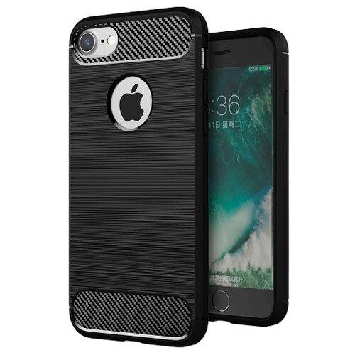 Фото - Чехол EVA IP8A012-7 для Apple iPhone 7/iPhone 8 черный/карбон чехол для сотового телефона nibk khabib nurmagomedov для iphone 7 8 черный