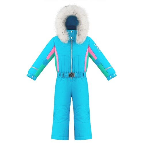 Фото - Комбинезон Poivre Blanc Ski Overall 274064 размер 98, aqua blue/multi куртка poivre blanc размер 128 true blue multi