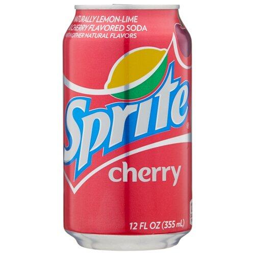 Газированный напиток Sprite Cherry, США, 0.355 л