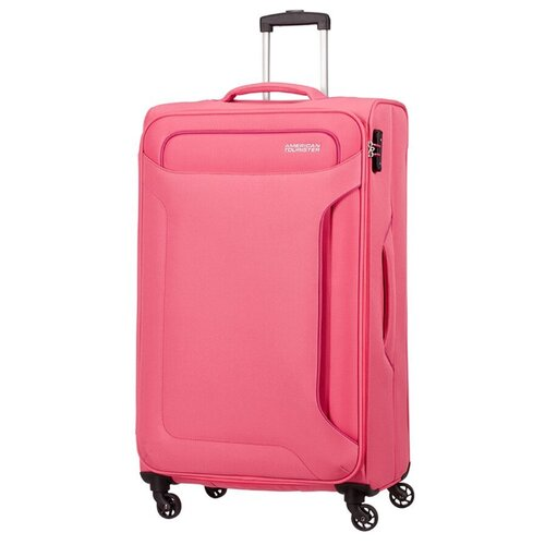 Чемодан American Tourister Holiday Heat 108 л, розовыйЧемоданы<br>