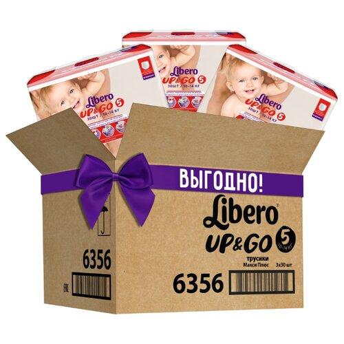 Купить Libero трусики Up & Go 5 (10-14 кг) 90 шт., Подгузники