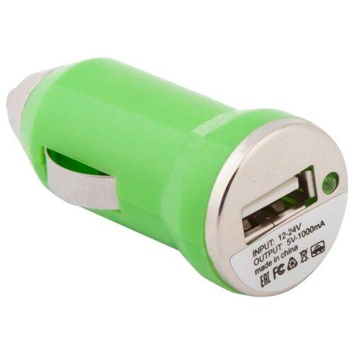 Автомобильная зарядка Liberty Project SM000127 зеленыйЗарядные устройства и адаптеры<br>