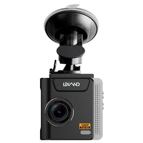 Видеорегистратор LEXAND LR65, GPS, ГЛОНАСС черный