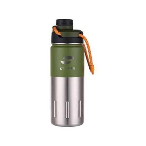 Термобутылка STINGER HD-500-46, 0.5 л зеленый мох