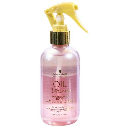 Oil Ultime несмываемый спрей-кондиционер Marula & Rose для тонких и нормальных волос, 200 мл недорого