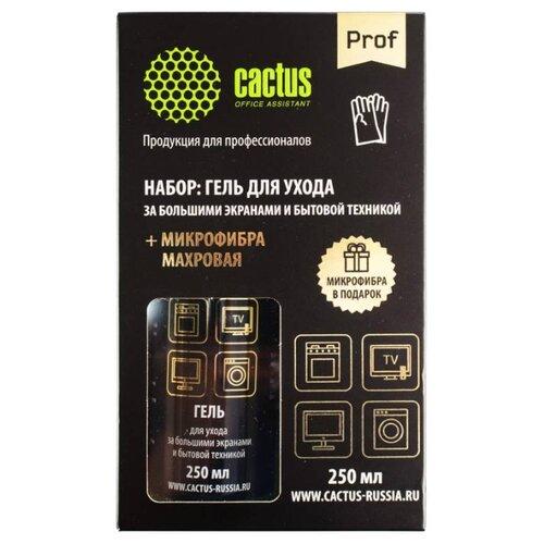 Набор cactus CSP-S3004B чистящий гель+сухие салфетки для экрана, для оргтехникиЧистящие принадлежности<br>