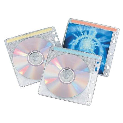 Конверт BRAUBERG 510196 для CD/DVD, 40 шт., серый
