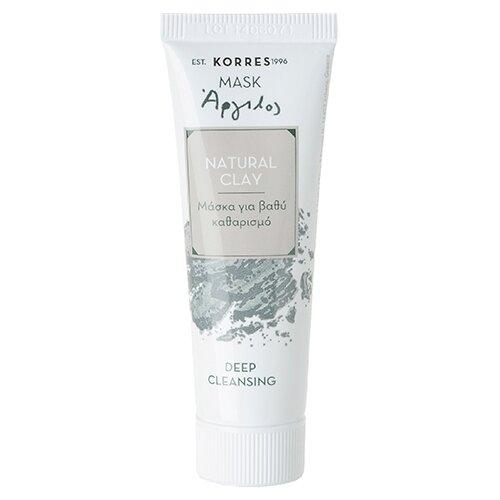 KORRES Маска для глубокого очищения кожи Натуральная глина, 18 мл avene маска для глубокого очищения купить