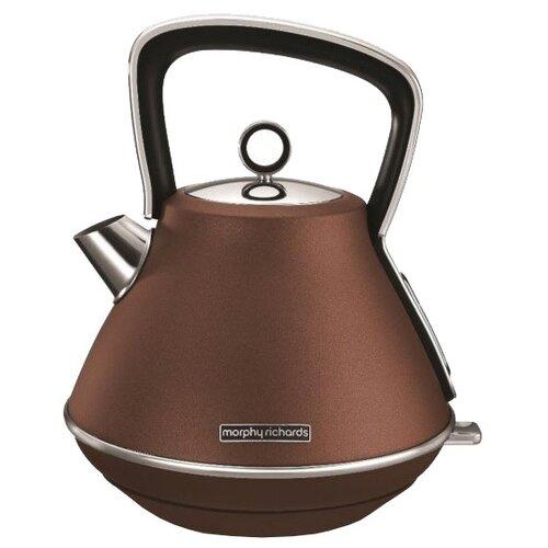 Чайник Morphy Richards 100101, коричневый
