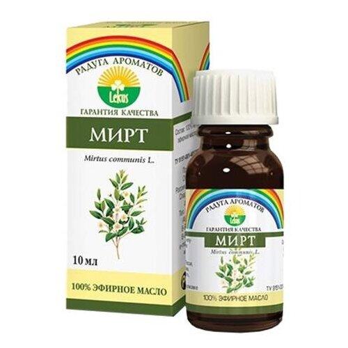 ЛЕКУС эфирное масло Радуга ароматов Мирт 10 мл